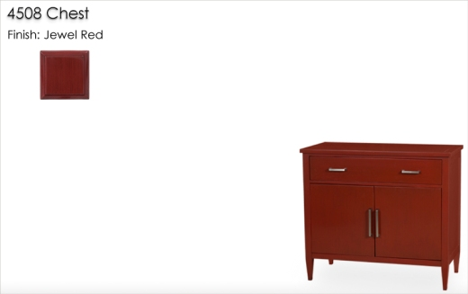 Lorts 4508 Chest finished in Jewel Red