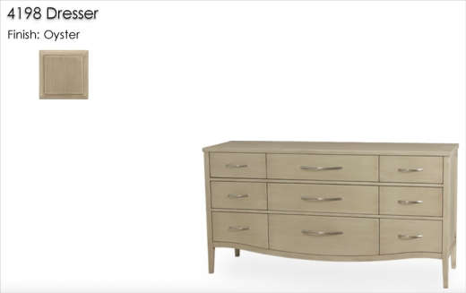 Lorts 4198 Dresser finished in Oyster