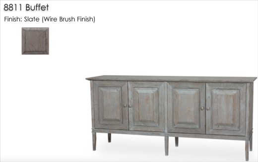 Lorts 8811 Buffet finished in Slate