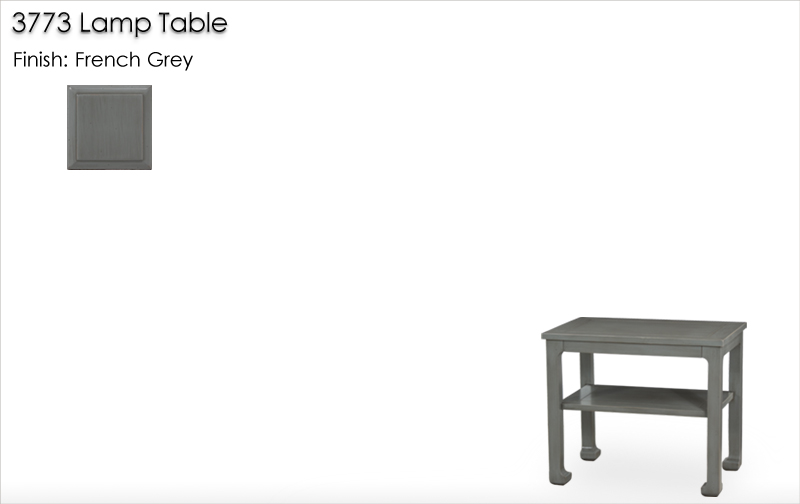 Lorts 3773 Lamp Table finished in French Grey