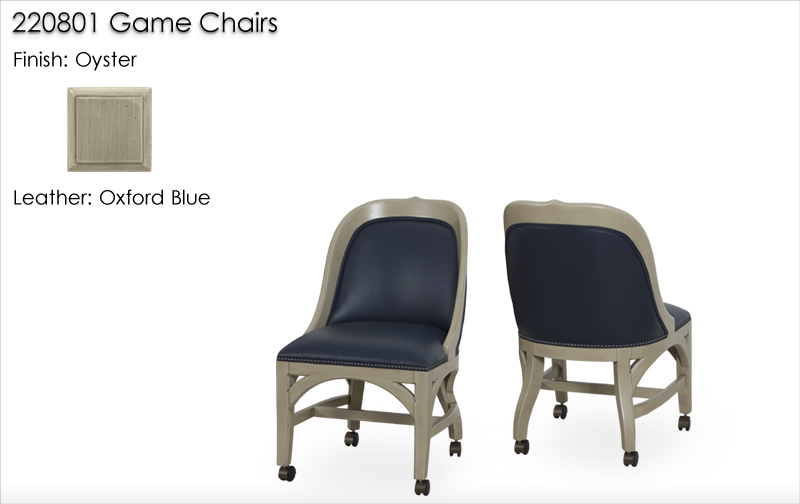 Lorts 220801 Game Chairs finished in Oyster