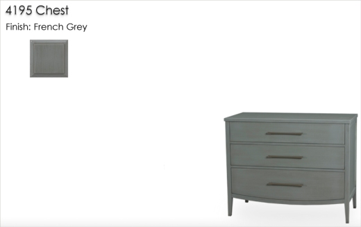 Lorts 4195 Chest finished in French Grey