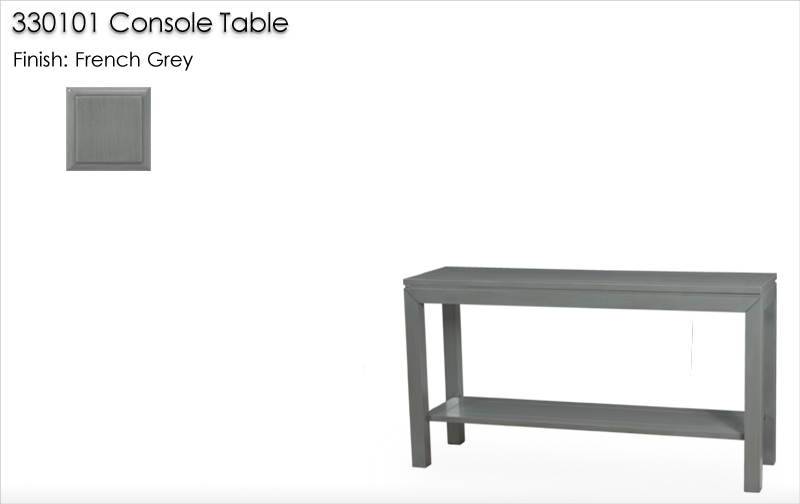 Lorts 330101 Console Table finished in French Grey