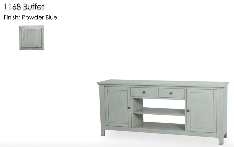 Lorts 1168 Buffet finished in Powder Blue