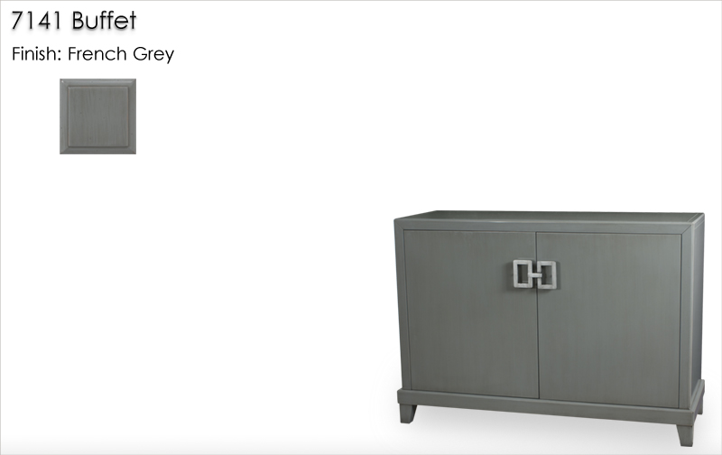 Lorts 7141 Buffet finished in French Grey