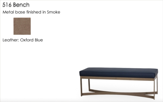 Lorts 516 Bench finished in Smoke