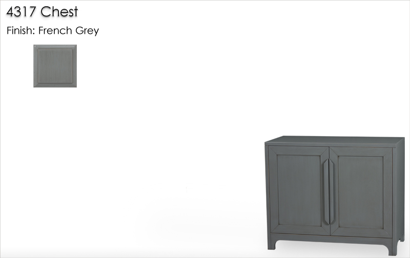 Lorts 4317 Chest finished in French Grey