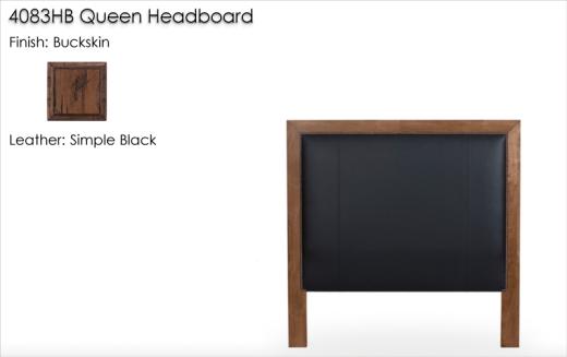 Lorts 4083HB Queen Headboard Only finsihed in Buckskin