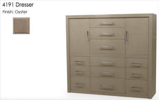 Lorts 4191 Dresser finished in Oyster